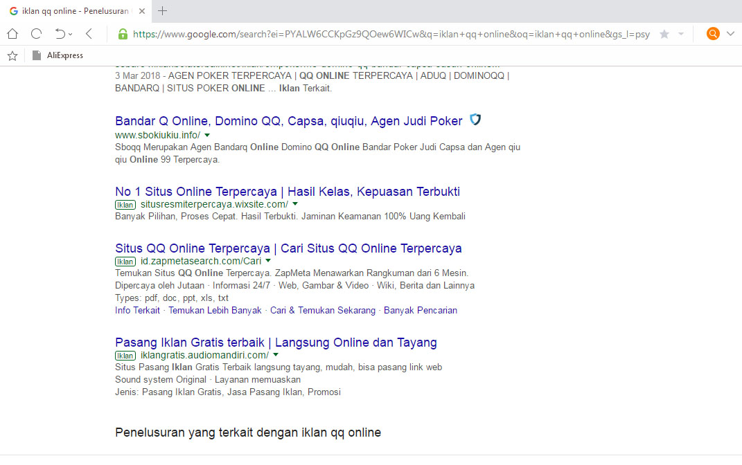 Image Result For Jasa Iklan Adwords Website Judi Casino Online
