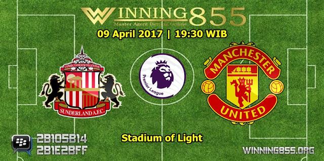Prediksi Skor Sunderland vs Manchester United 09 April 2017