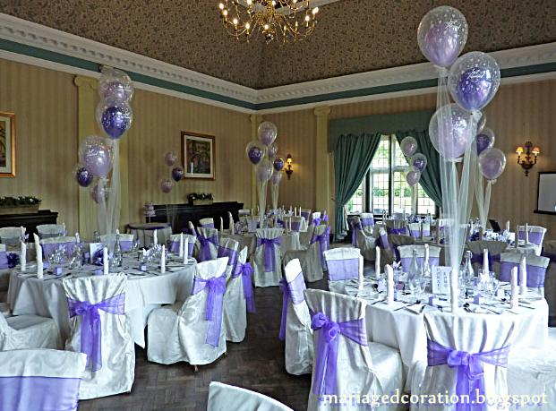 Mariage simple ballon id es de d coration mariage d co - Decoration mariage ballon ...