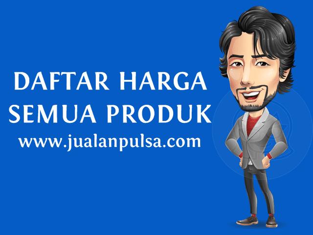 Daftar Harga Semua Produk JualanPulsa.com