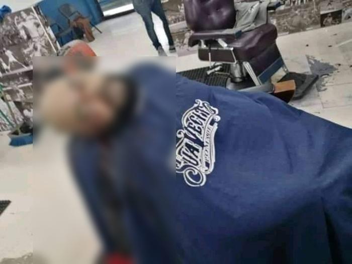 """Ejecutan a """"El H"""", Jefe de Sicarios de los Salazar del CDS mientras estaba en una barbería en Hermosillo; Sonora"""