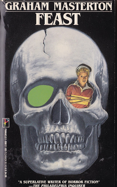 e4ac3d8a7ecc Published as a Pinnacle paperback original in 1988 with some  fanfuckingtastic cover/stepback art by comic book artist Bob Larkin, Feast  is today one of the ...