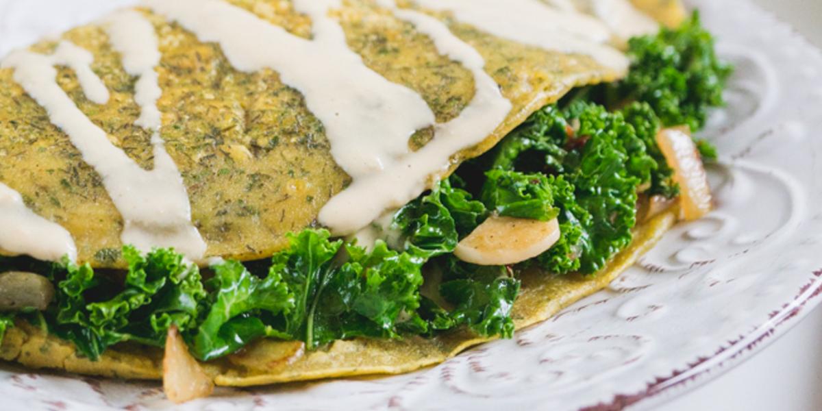 Tahini Omelet Recipe
