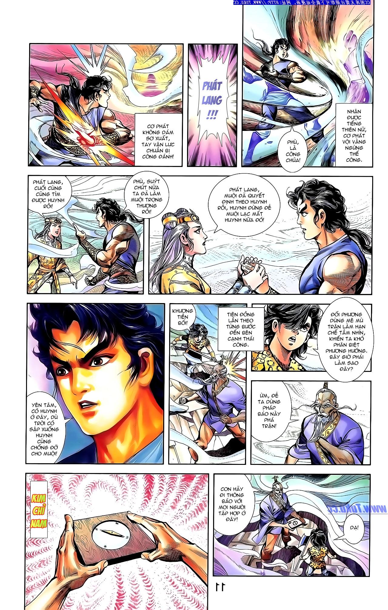Cơ Phát Khai Chu Bản chapter 142 trang 19