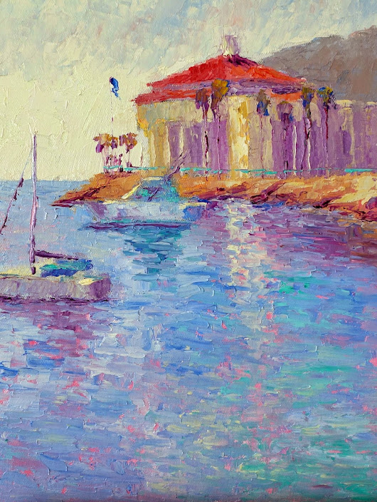 Weekly Paintings by Terry d. Chacon: Catalina Island Workshop 2014