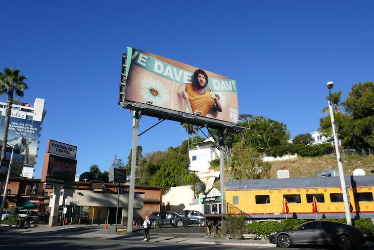 Dave TV series billboard