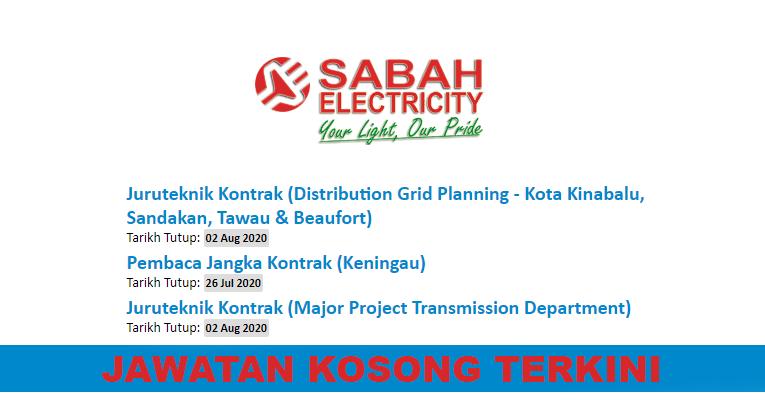 Kekosongan Terkini di Sabah Electricity Sdn. Bhd