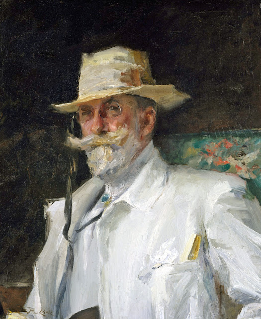 William Merritt Chase, Self Portrait, Portraits of Painters, Fine arts, Merritt Chase