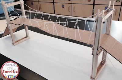 STEM Bridge! Let's build a suspension bridge using craft sticks and glue! Can you add string to make it resemble a rel suspension bridge?