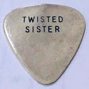 Custom Twisted Sister guitar pick