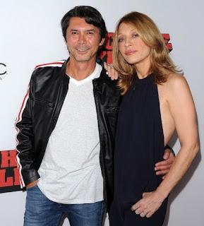 Yvonne Boismier Phillips with her husband Lou Diamond Phillips