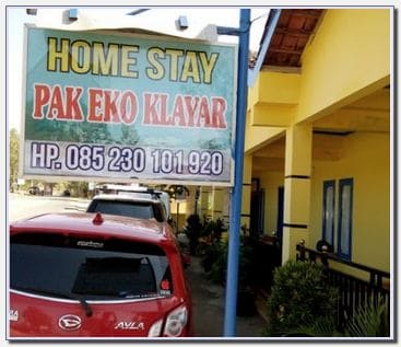 Homestay Pak Eko Klayar Pacitan Regency East Java