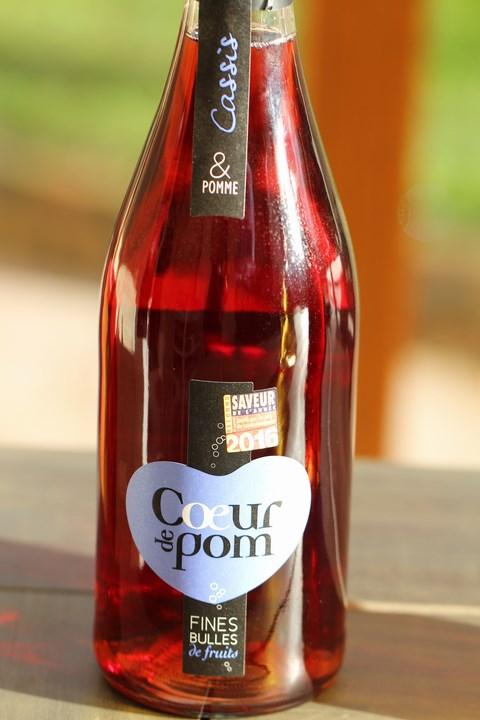Porto pétillant Cœur de Pom cassis