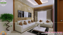 Living Room Interior Design in Kerala