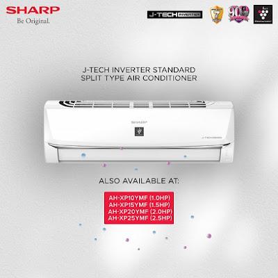 Sharp J-Tech Inverter Standard Split Type Air conditioners