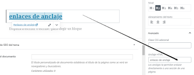 Simplemente puede hacer clic en la pestaña 'Avanzado' debajo de la configuración del bloque de encabezado.