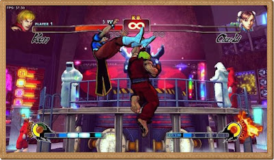 Street Fighter 4 Games Screenshots