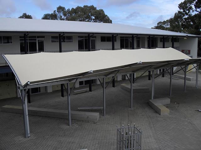 kanopi membrane awning surabaya