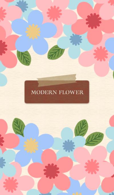 MODERN FLOWER 13 *
