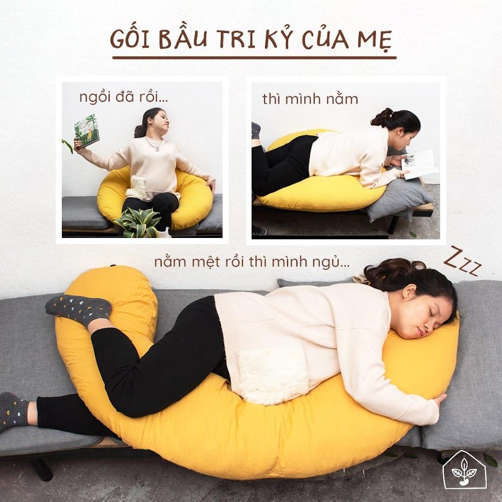 [A159] Tìm cửa hàng mua gối ôm Bà Bầu tại Hà Nội giá rẻ