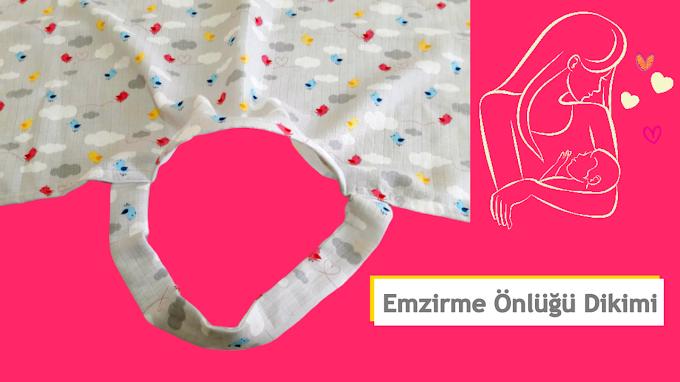 Bebek emzirme önlüğü dikimi   Bebek emzirme örtüsü nasıl dikilir? - Videolu Anlatım