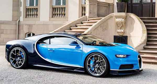 2016 Bugatti Chiron At Goodwood Festival of Speed