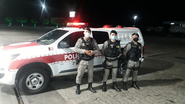 Policiais Militares de Santa Luzia-PB evitam tentativa de suicídio na BR230