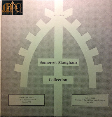Catalogue of Somerset Maugham Collection - Sotheby