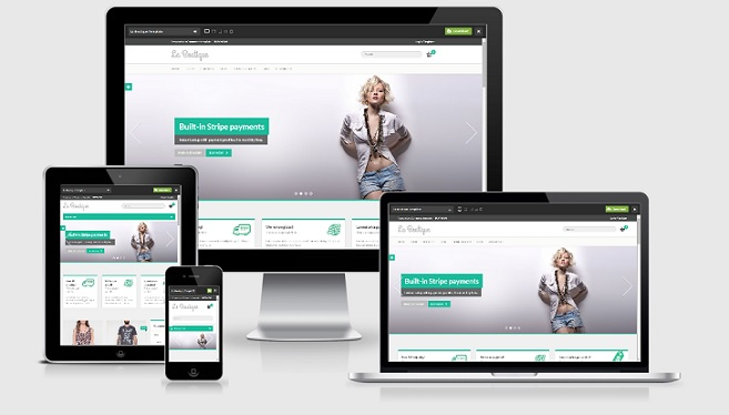 La Boutique Responsive eCommerce Wordpress Template