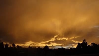 Sunset in Loja Ecuador