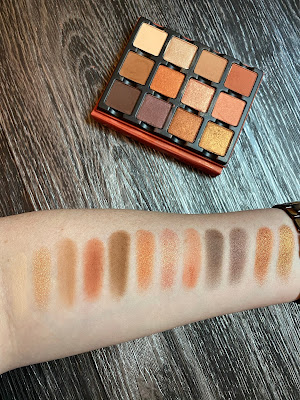 Review and Swatches: Viseart Minxette Etendu Palette