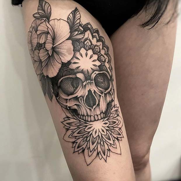 Thigh Tattoo Ideas