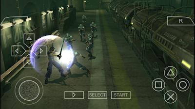 تحميل لعبة Crisis Core: Final Fantasy VII لأجهزة psp ومحاكي ppsspp