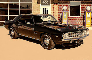 1969 Chevrolet Camaro COPO Clone Front Right