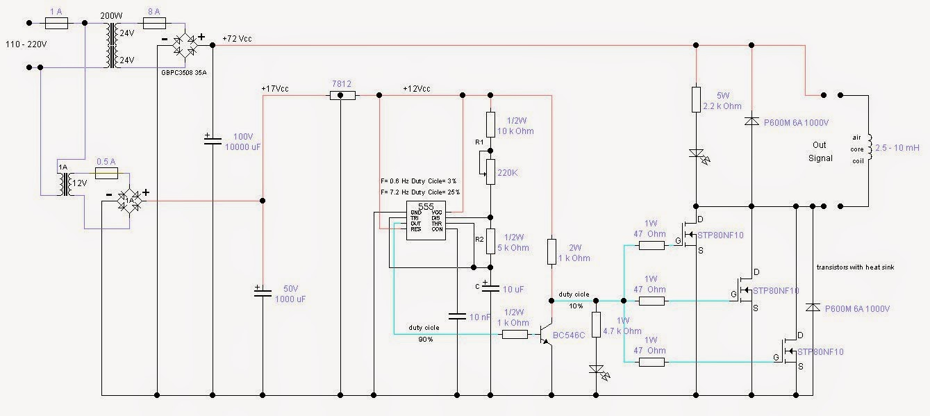 Magnetic Pulser Schematic on