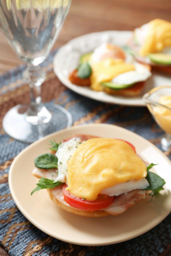 WW Skinny Eggs Benedict