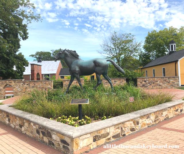 Chamoissaire Sculpture impresses at St. James Farm in Winfield, IL