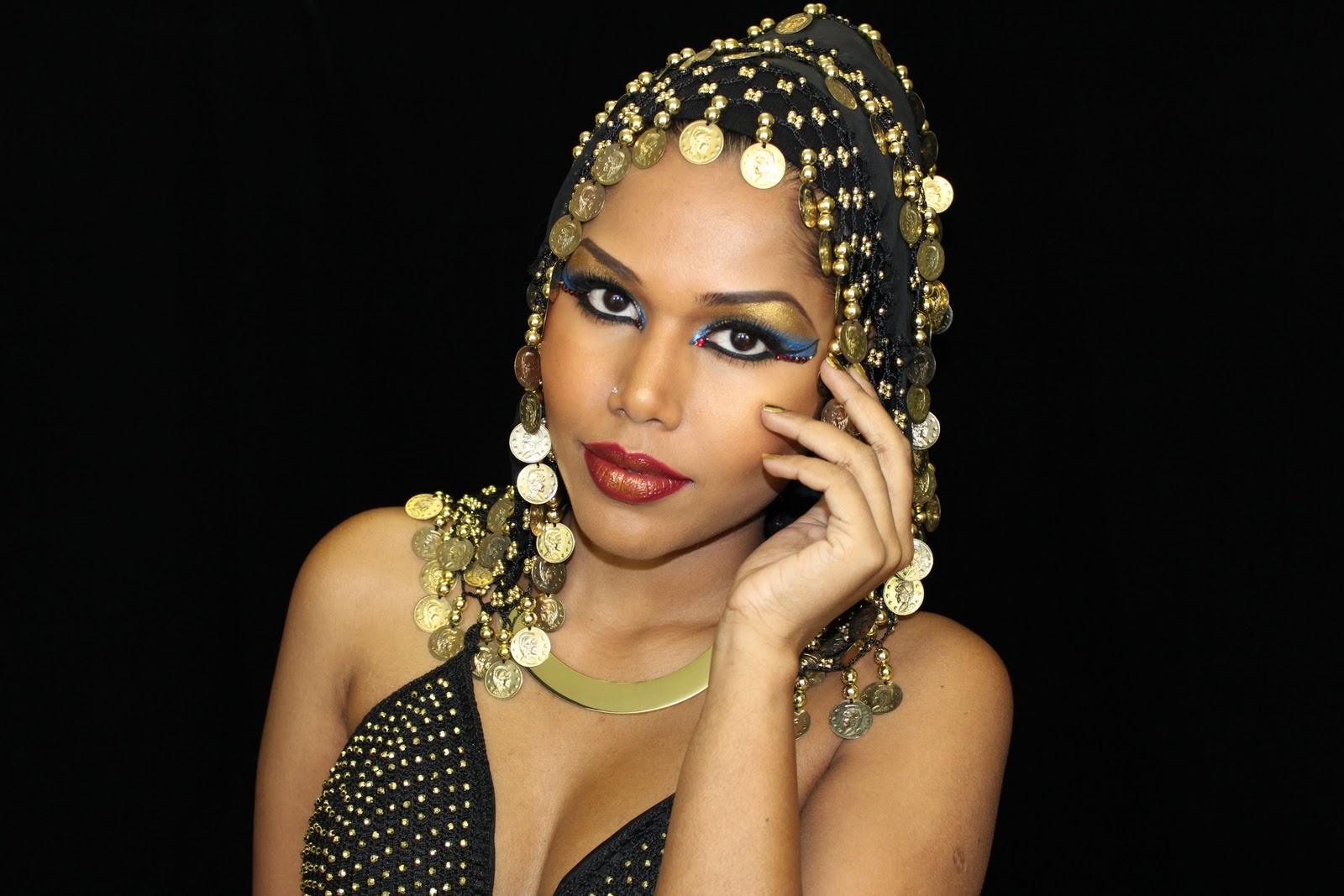Umamakeuphdtv Queen Cleopatra Inspired Makeup Look For