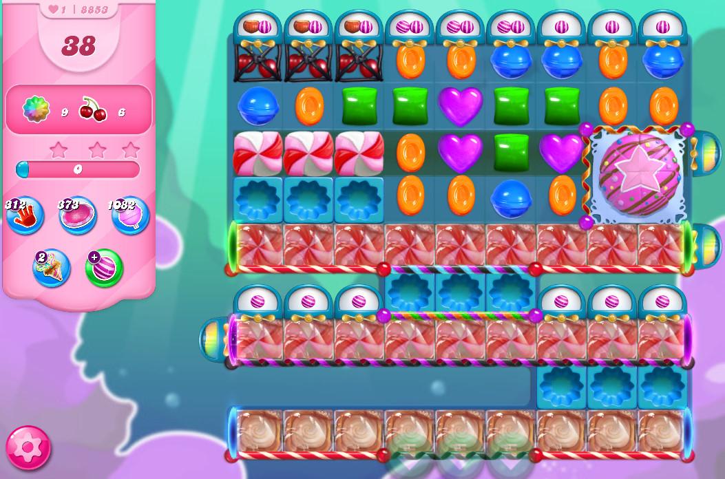 Candy Crush Saga level 8853