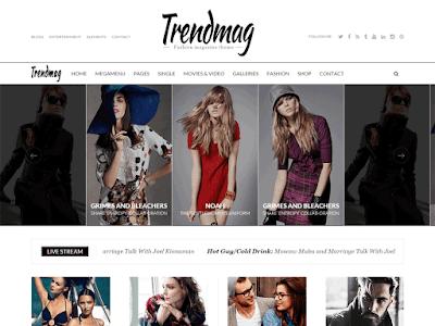 TrendMag Free Magazine Wordpress Theme