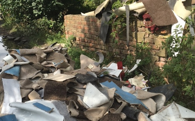 Huge increase in number of fly-tipping reports due to better awareness of how to complain, says Council