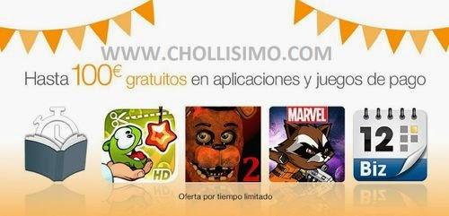 Aplicaciones gratis amazon- Promocion amazon