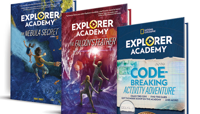 A Summer Reading Giveaway: Explorer Academy Adventure Series by Trudi Trueit (a $47 Value)!