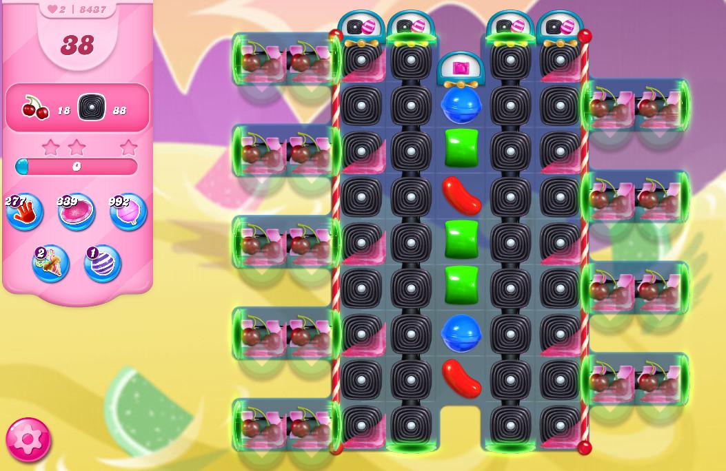 Candy Crush Saga level 8437