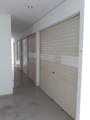 rolling door one sheet jakarta selatan murah