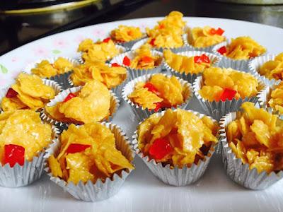 Resepi Ringkas Cornflakes Madu Sukatan Cawan