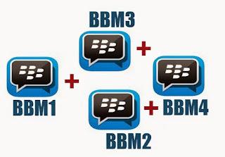 BBM + BBM2 + BBM3 + BBM4 v2.13.1.13 Apk