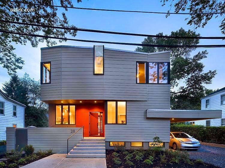 Casa familiar prefabricada de estilo Contemporáneo en Princeton