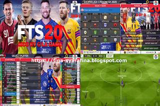 FTS 2020 Mod Shopee Liga 1 & Eropa by Gilagame