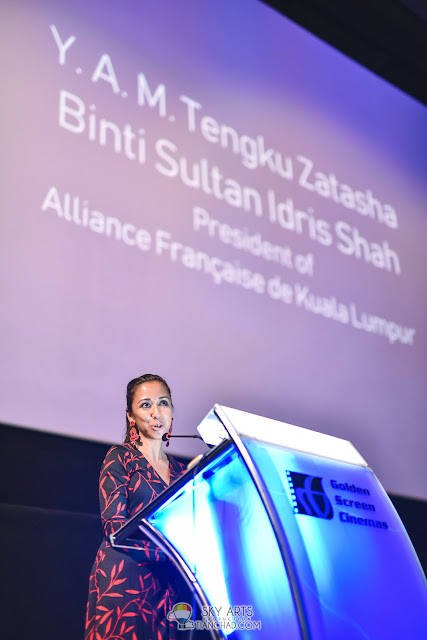 Y.A.M. Tengku Zatashah - Le French Festival 2018 Launching at GSC Pavilion KL, Malaysia